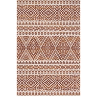 Magnolia Home Lotus Rug by Joanna Gaines - Antique  Ivory / Rust