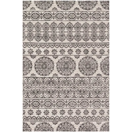 Magnolia Home Lotus Rug by Joanna Gaines - Antique Ivory / Mink