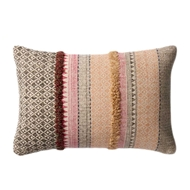 Magnolia Home by Joanna Gaines Pink & Beige Pillow P1019