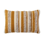 Magnolia Home by Joanna Gaines Gold & Ivory Pillow P1022