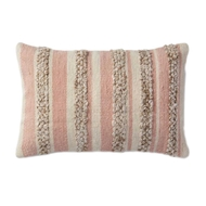 Magnolia Home by Joanna Gaines Pink & Ivory Pillow P1022