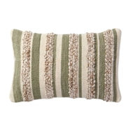 Magnolia Home by Joanna Gaines Sage & Ivory Pillow P1022