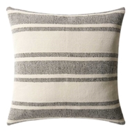 Magnolia Home by Joanna Gaines Black & Ivory PillowP1032