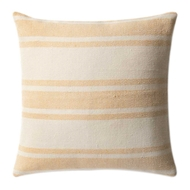 Magnolia Home by Joanna Gaines Gold & Ivory PillowP1032