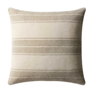 Magnolia Home by Joanna Gaines Khaki & Ivory PillowP1032