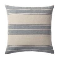 Magnolia Home by Joanna Gaines Navy & Ivory PillowP1032