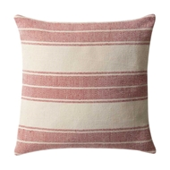 Magnolia Home by Joanna Gaines Red & Ivory PillowP1032