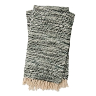 Magnolia Home by Joanna Gaines Bree Charcoal & Grey Throw Blanket