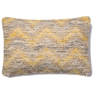 Magnolia Home by Joanna Gaines Yellow & Grey Pillow P1003 - Designer Pillow
