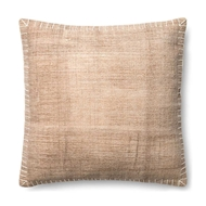 Magnolia Home by Joanna Gaines Beige & White Pillow P0435 - Designer Pillow