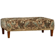 Parchment Stone Upholstered Table Ottoman 9150F50