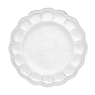 Arte Italica Home Bella Bianca Beaded Salad Plate