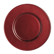 Arte Italica Home Gemma Red Charger