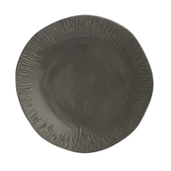 Arte Italica Home Graffiata Grey Dinner Plate