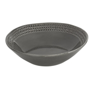 Arte Italica Home Graffiata Grey Pasta/Soup Bowl