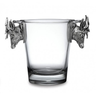 Arte Italica Home Animale Glass Ice Bucket