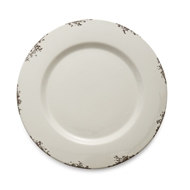 Arte Italica Scavo Antique White Charger