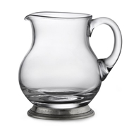 Arte Italica Taverna Small Glass Pitcher
