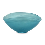 Arte Italica Home Volterra Aqua Small Oval Bowl