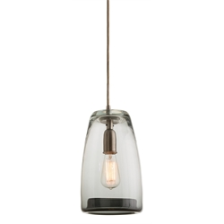 Arteriors Lighting Javier Pendant With Smoke Finish In Gray