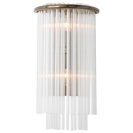 Arteriors Lighting Royalton With Vintage Brass Finish In Yellow 49957
