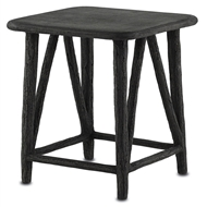 Currey & Company Home Arboria Accent Table 2000-0002 Concrete