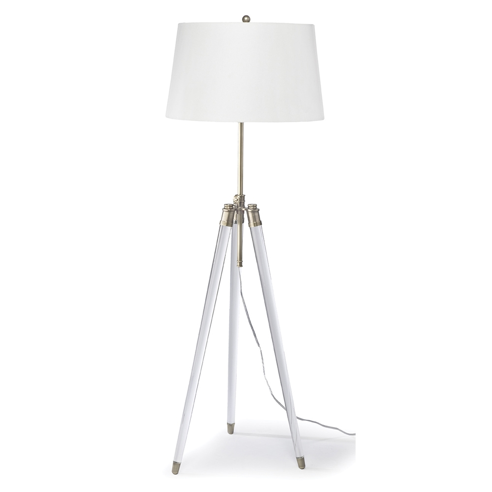 Regina andrew lighting - Regina Andrew Lighting Brigitte Floor Lamp Brass
