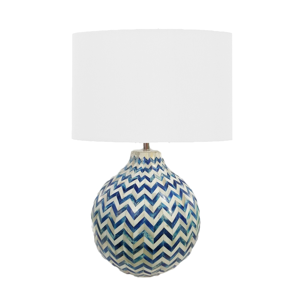 Regina andrew lighting - Regina Andrew Lighting Chevron Bone Lamp