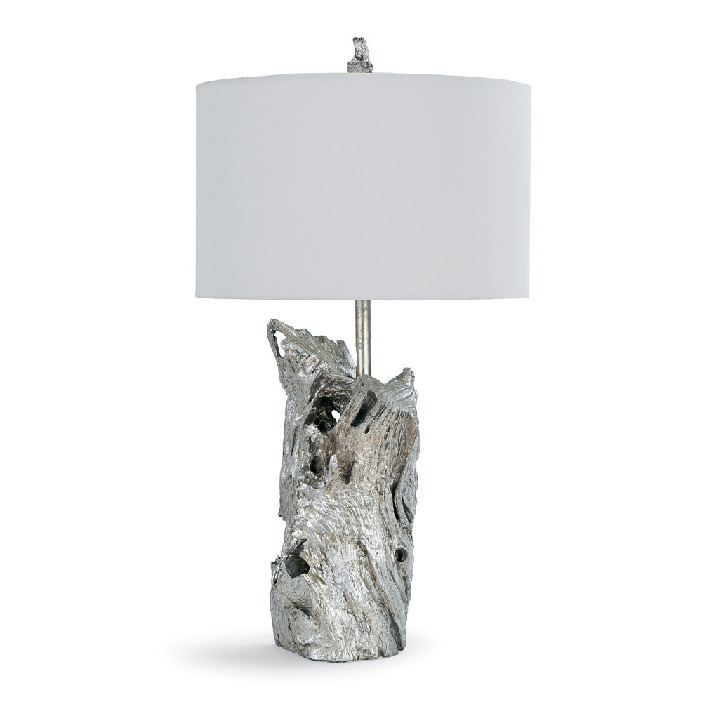 Regina andrew lighting - Regina Andrew Lighting Driftwood Lamp Ambered Silver