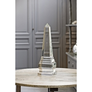 Regina Andrew Home Extra Large Crystal Obelisk Accessory 505-037