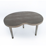 Regina Andrew Home Shagreen Kidney Bean Cocktail Table 57-63-0034