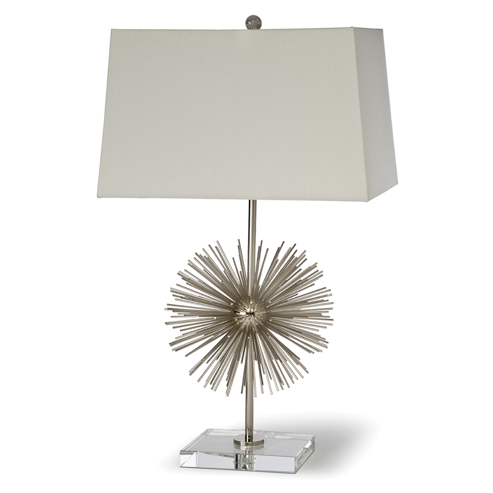 Regina andrew lighting - Regina Andrew Lighting Vega Lamp In Nickel