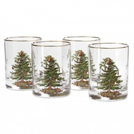 Spode Christmas Tree S/4 Double Old Fashioneds 4339205
