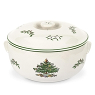 Spode Christmas Tree Round Covered Casserole 4349532