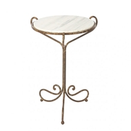 Aidan Gray Avista Occasional Table in Rustic Storm