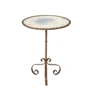 Aidan Gray Bolden Occasional Table in Rustic Storm