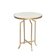 Aidan Gray Fuji Occasional Table Marble