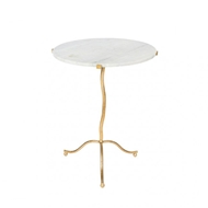 Aidan Gray Kalmar Occasional Table in Gold