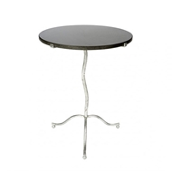 Aidan Gray Kalmar Occasional Table in Silver