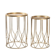 Aidan Gray Wishbone Side Table Set