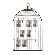 Birdcage Card and Photo Holder - Creative Co-op