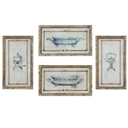 Creative Coop - Antique Silver Wall Art