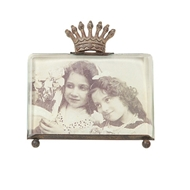 Creative Coop - Photo Frame with Crown