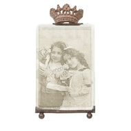 Creative Coop - Photo Frame Vertical Crown