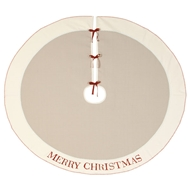Eastern Accents God Jul Tree Skirt