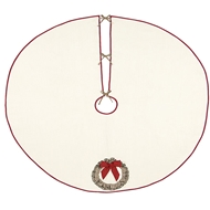 Eastern Accents Seasonal Wreath Tree Skirt