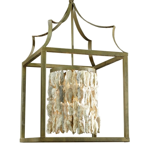 Lantern Shell Cylinder Chandelier Made In Usa