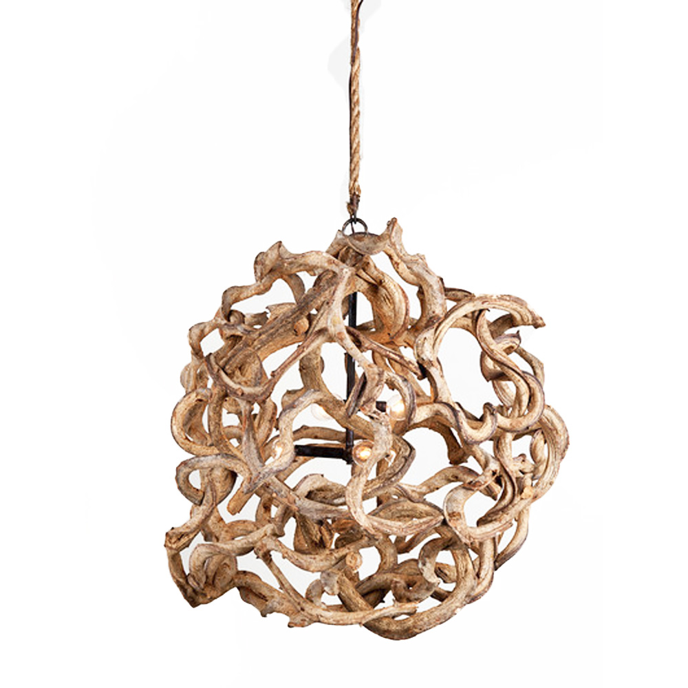 Vine ball chandelier made in usa lowcountry originals for Lowcountry lighting
