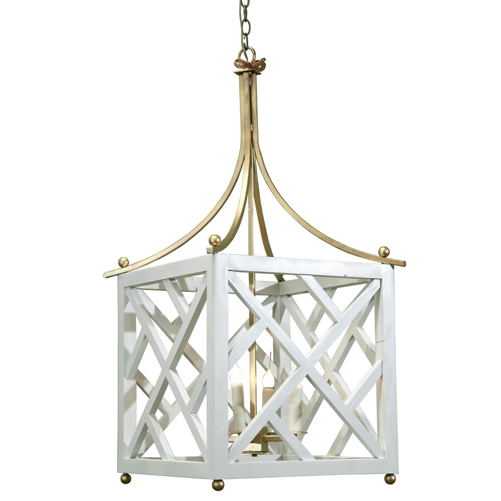 Chippendale Lantern Chandelier Made In Usa Lowcountry