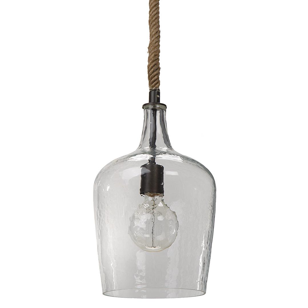 Regina andrew lighting - Regina Andrew Lighting Hammered Glass Pendant